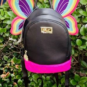 Betsey Johnson butterfly backpack!